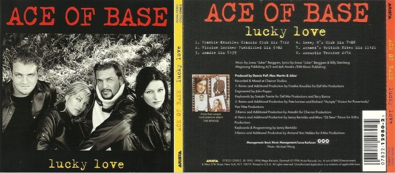 Lucky Love Ace Of Base